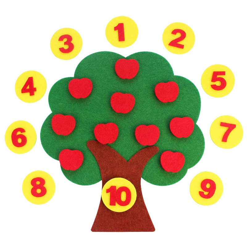 Apple-Tree-Math-Toys-For-Kids-Montessori-Educational-Teaching-Aids-Kindergarten-Children-Manual-DIY-Weave-Cloth