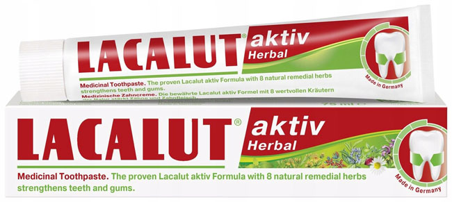 Lacalut aktiv herbal