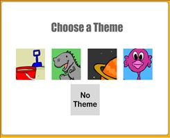 Choose a Theme for Quick Flash II Multiplication