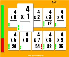Answer the Problems in Quick Flash II Multiplication